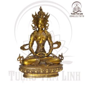 Tượng Đồng Ngài Vô Lượng Thọ Phật