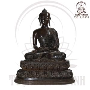 Tượng Đồng Ngài Phật A Di Đà Mật Tông