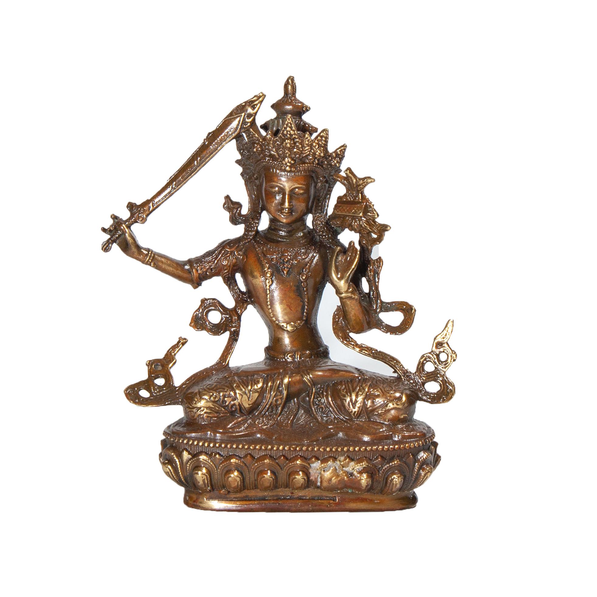 Manjushri Ngai Van Thu Su Loi